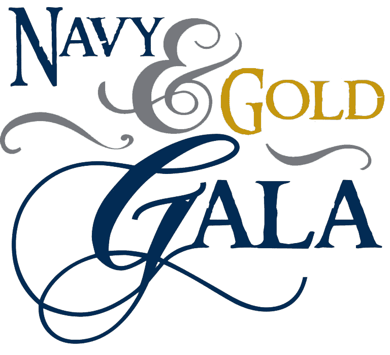 Navy Gold Gala logo